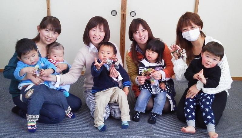 張、金子、永島、伊藤寅年2歳半親子